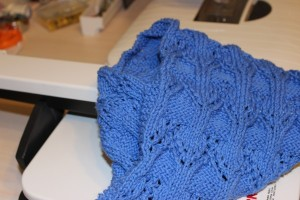 Lace Cowl Completed