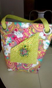 Letty's Bag given as a gift for a Diaper Bag